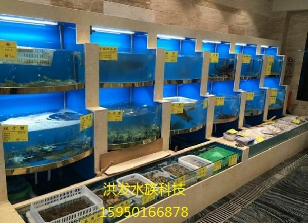 抚州酒店 饭店海鲜鱼缸