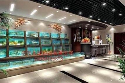 上海定做 酒店鱼缸