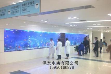 上海苏州昆山定做大型鱼缸