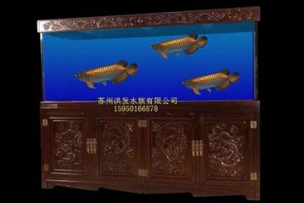 昆山订制欧式实木鱼缸