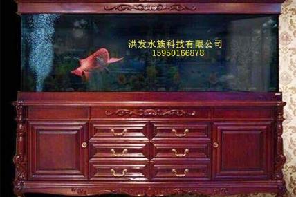 昆山欧式实木鱼缸定做