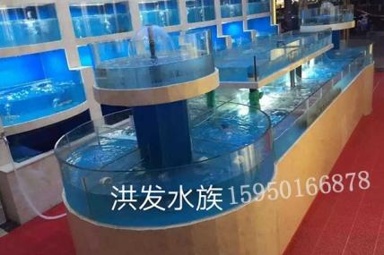 酒店饭店海鲜鱼缸